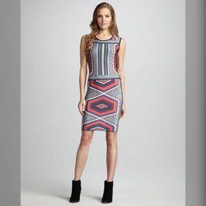 NWT AARON ASHE Midi Bodycon Dress Size Medium